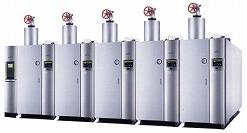 小型貫流蒸気ボイラ SI 油焚き1500V、2000V